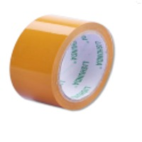 Core With 1 Color Brand Imprint Clear Tape