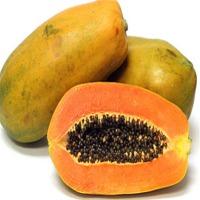 Fresh Yellow Papaya