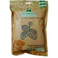 Organic Deshi Chana Whole Brown 1 KG Pouch