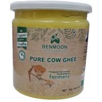 Organic Pure Cow Ghee 400 ML Bottle