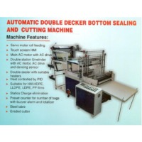 Double Decker Sealing and Cutting Machine