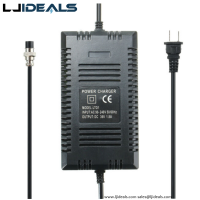 36v/1.6a Battery Charger 3 Pins/xlr/dc Connector