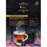Saffron Black Tea