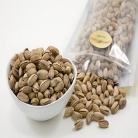 Round Roasted & Salted Pistachio Nuts