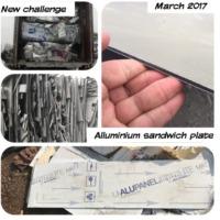 Aluminum Sandwich Sheet