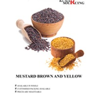 Mustard Brown And Yellow