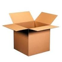 Brown and White Corrugated Boxes