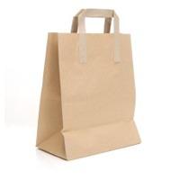 Plain And Printed Sos Tape Handle Bag