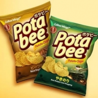 Potabee Potato Chips Calbee Wings 68gr+15%extra