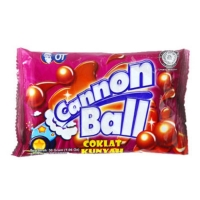 Cannon Ball Chewy Chocolate Balls