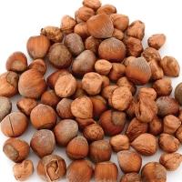Organic Raw Hazelnut With And Without