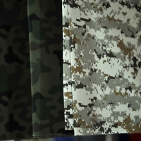 title='Camouflage Printed On Ripstops'