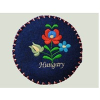 title='Embroidered Felt Box'
