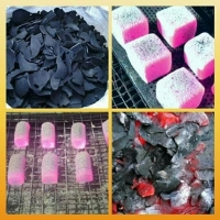 Coconut Barbecue Charcoal Barbecue Briquette