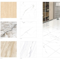 Glazed Vitrified Tiles - 600 * 600 mm - Glossy