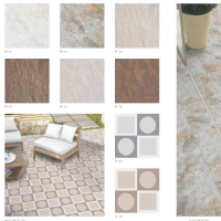 Digital Vitrified Outdoor Tiles