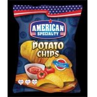 Potato Chips Tomato Ketchup
