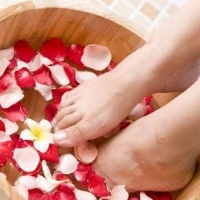 Wooden Foot Spa Bucket