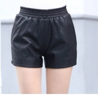 Ladies Leather Shorts