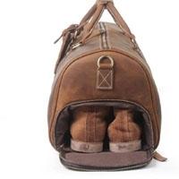 Leather Large Travel Bag