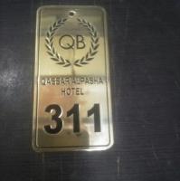 Hotel keychains