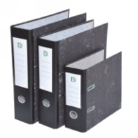 3inch Fc Marble Lever Arch File Paper