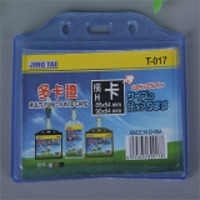 Badge Id Permit Pass Card Holder Protector