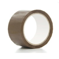 Brand Imprint Brown Tape