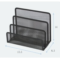 Mesh Metal Bookend Bookstand