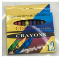 Wax Crayon, 7.8x78mm, 12 Colors