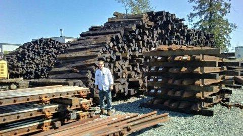 Haedwood Rail Ties