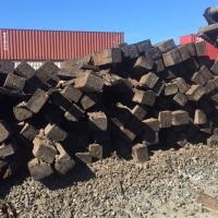 Hardwood Rail Ties