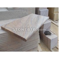 Indian Copper Quartzite Slate Ledge Stone