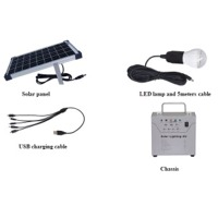 10w Solar Lighting Kit Os-ds0107