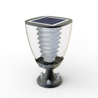SL-15 : 100Lumens Cup Design Solar Post light