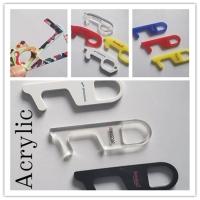 Acrylic No Touch Door Opener Clean Key