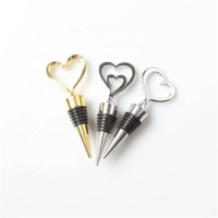 Love Heart Shape Wine Bottle Stopper