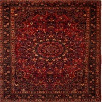 Persian Mud  Rugs