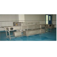SS Shrimp Pan Defrosting Conveyor