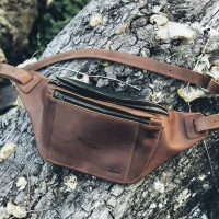 Zulu Waist Leather Bag