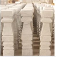 Marble Column (White Marble)