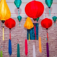 title='Vietnamese Lanterns For Party Decoration'