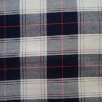 Yarn Dyed Harringbone Check Fabric