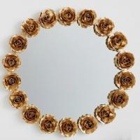 Rose Round Wall Mirror