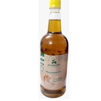Organic Mustard Oil (Kachi Ghani) 1 Liter Bottle
