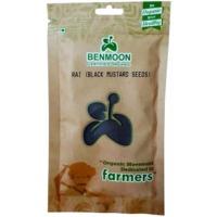 Organic Black Mustard Seed (Rai) 100 GMS Pouch