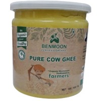 Organic Pure Cow Ghee 400 ML Bottle