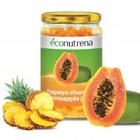 Organic Papaya Pieces in Pineapple Juice