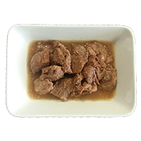 Stewed Pure Meat In Pieces Without Side Dish
