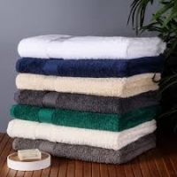 100% Cotton White And Dyed Towels